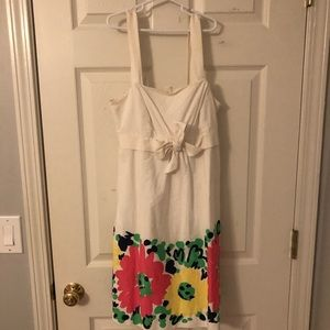Lilly Pulitzer dress with fun florals!
